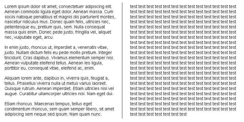 lorem-vs-test